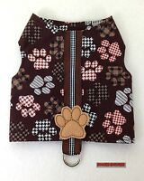 Dog Gone Cute Male Dog Harness Size Xxxs Through Medium By Doogie Couture