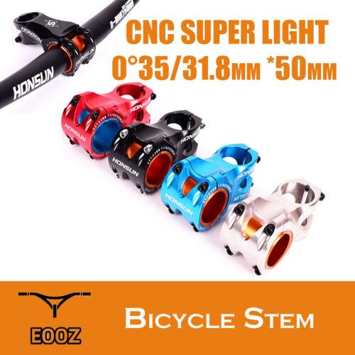 CNC MTB Mountain bike bicycle stem For XC 50mm AM 0 degree 35mm 31.8mm