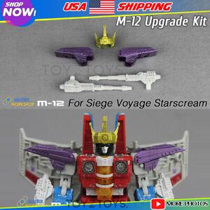 Matrix Workshop M-12 Upgrade Kit For Siege Voyage Robot Starscream Transformers