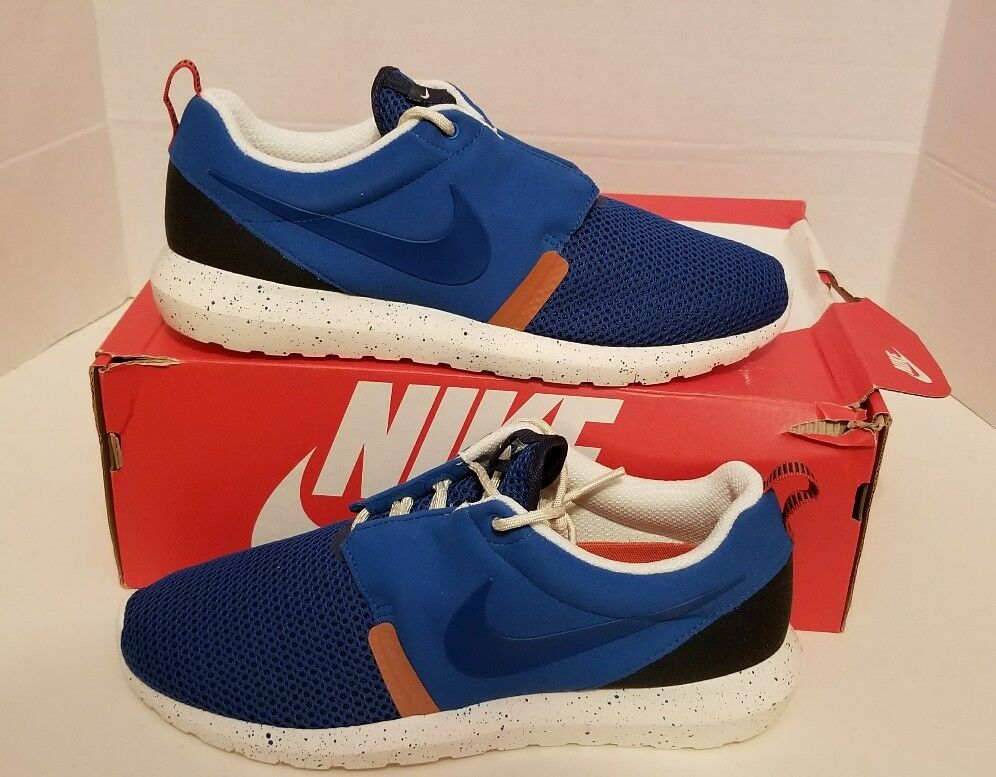 NIKE ROSHE RUN NM BR BR BR MEN'S SZ 9 NEW  MILITARY blueE NAVY SAIL ROSHERUN 644425-400 52036e