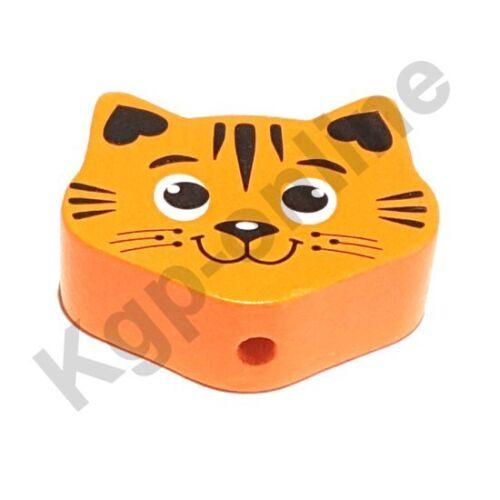 chaînes de tétine Holzperle Motif Perle Maxi chat