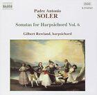 Soler: Sonatas for harpsichord Vol.6 (CD, Mar-2000, Naxos (Distributor))