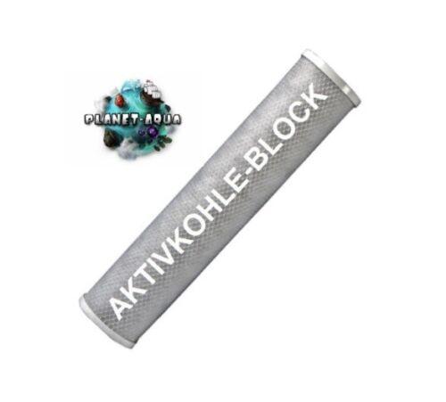 """20x AKTIVKOHLE BLOCK Filter 10/"""" Umkehrosmose WASSERFILTER Brunnen Osmoseanlage"""