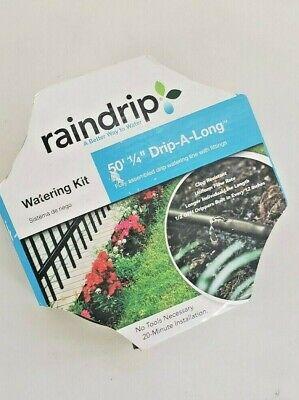 Raindrip R280DT BLK 1//4-Inch by 50-Foot Black Drip
