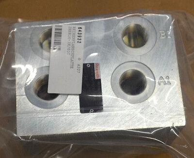 Unparteiisch Rexroth 2hsr 10-35/01c Fe/zn8& R900170962 Reihenplatte Hydrauliksteuerblock