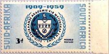 RSA SÜDAFRIKA SOUTH AFRICA 1959 258 50 Jahre Akademie Kunst Wissenschaft MNH