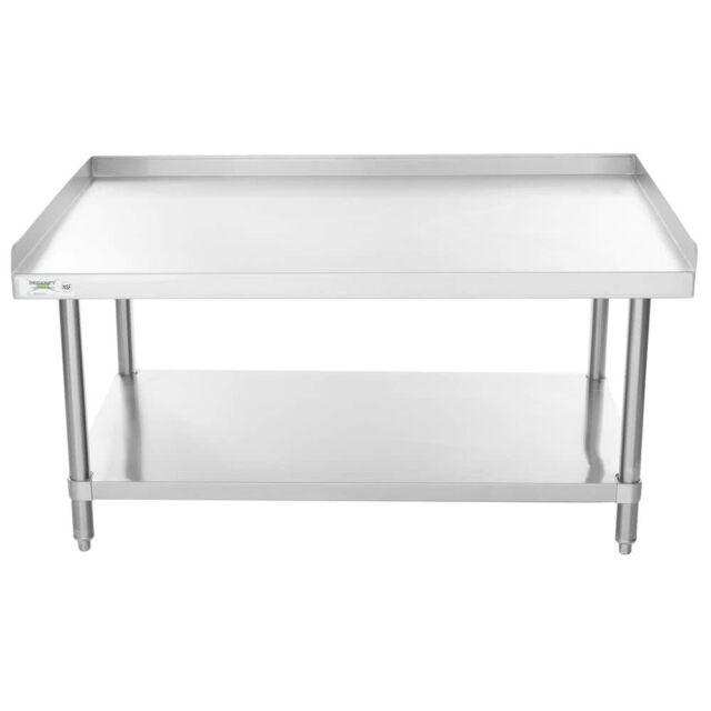 X Stainless Steel Stand Work Prep Kitchen Restaurant Table - Stainless steel work table 30 x 48