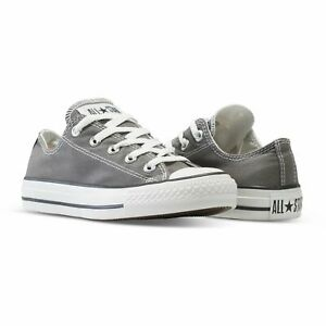 Converse-All-Star-Chuck-Taylor-Mens-Charcoal-Grey-Fashion-Sneakers-Shoes-1J794c