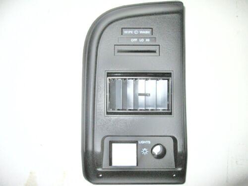 1988 E-150-350 VAN LH INSTRUMENT CLUSTER PANEL W//INTERVENT WIPER E8UZ-15044D71-E