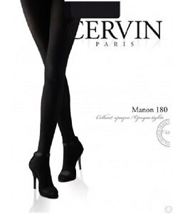 Opaque-Tights-180-Deniers-Part-Manon-180-Brand-French-Cervin