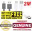 2-METRI-2m-USB-2-0-Cavo-Di-Piombo-Un-Maschio-A-Micro-B-5-Pin-Nero-3-M-MASCHIO-MASCHIO miniatura 1