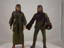 "Vintage Mego Planet of the Apes Toys - Cornelius & Zira  8"" Figures POTA Lot"