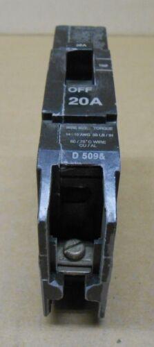LOT OF 10 GE GENERAL ELECTRIC TEY TEY120 CIRCUIT BREAKERS 20A 20 AMP 1P 277VAC