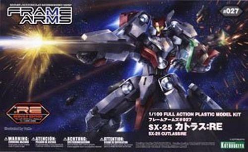 KOTOBUKIYA FRAME ARMS SX-25 CUTLASS RE 1 100 Plastic Model Kit NEW Japan