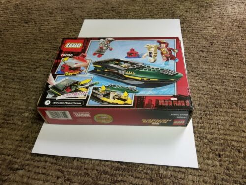 LEGO Super Heroes Iron Man Extremis Sea Port Battle 76006 new seald