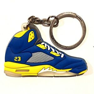 d121a59cd9c9 AIR JORDAN V 5 RETRO SHANGHAI LANEY BLUE SUPREME OG SNEAKER SHOES ...