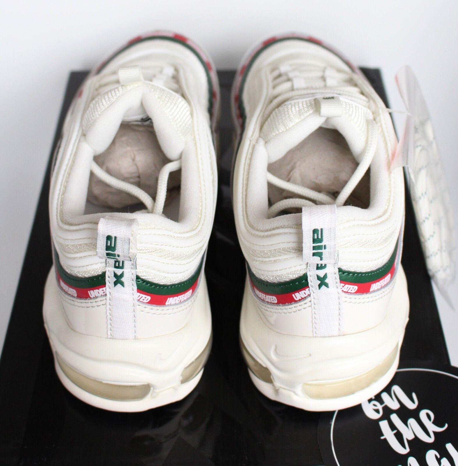 Nike Undefeated Max 97 og X Blanco Crema Air 9.5 Rojo UNDFTD AJ1986-100 Reino Unido 8.5 9.5 Air Nuevo 7a9b8f