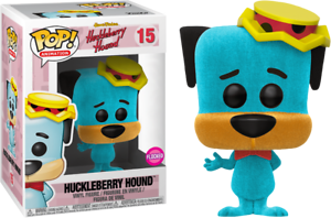 Flocked-HUCKLEBERRY-HOUND-Funko-Pop-VINYL-NEW-in-Box