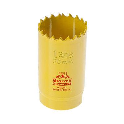 Starrett FCH0136 30 mm 1.3//16 Bimétal Fast Cut Scie-cloche Fastcut Trou Scie STRHS 30AX