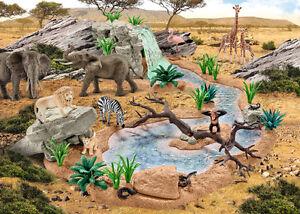SCHLEICH-Wild-Life-Tiere-mit-Faehnchen-Neuheiten-2017-zur-Auswahl-NEUWARE