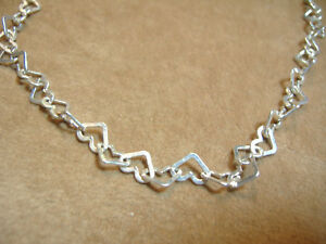 VINTAGE-STERLING-SILVER-ALL-HEARTS-NECKLACE-17-034
