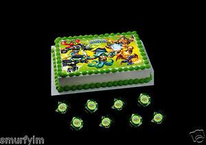 Skylanders Cake Decorations Uk