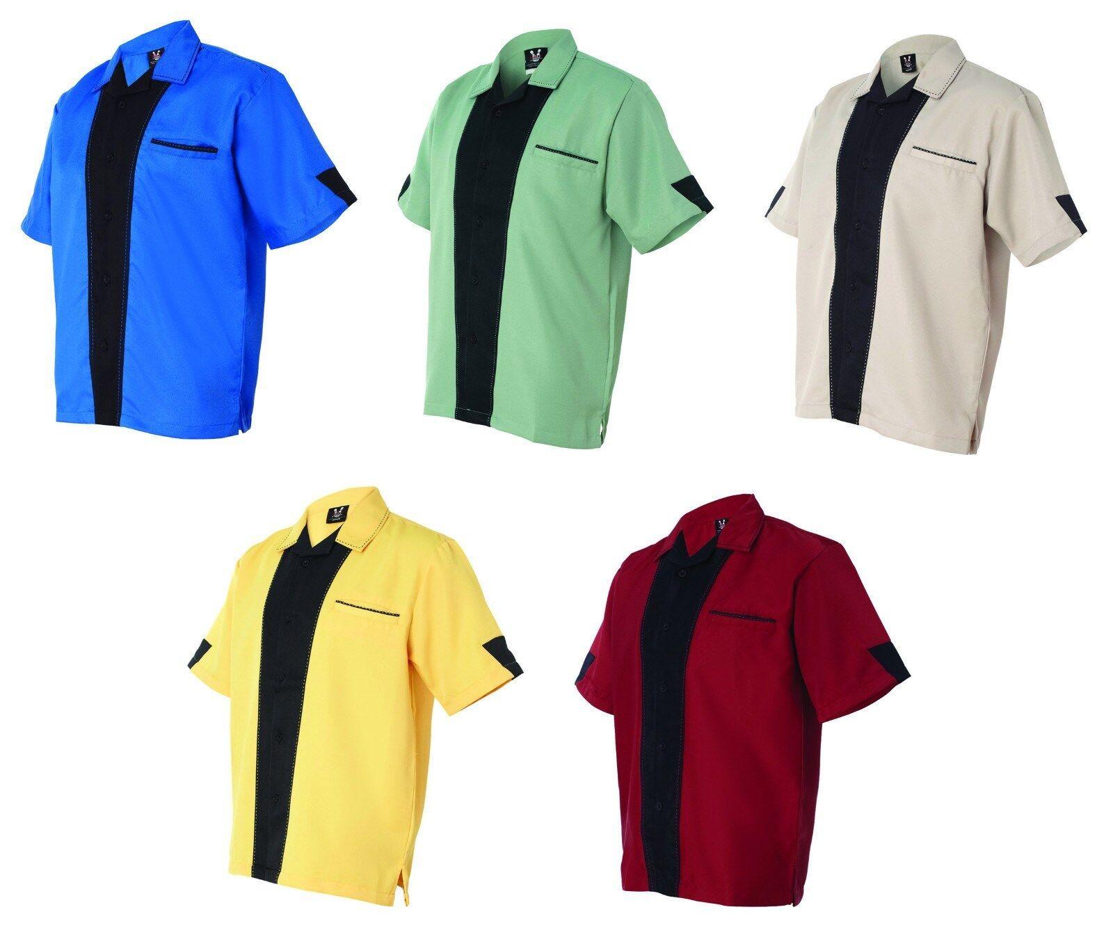 Hilton Monterey Bowling Shirt NEW Mens Size S-3XL  Kingpin  Movie Star Camp