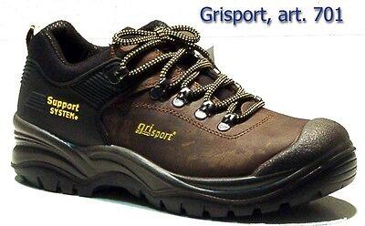 Grisport scarpa antinfortunistica art 701 LDV ASIAGO S3 HRO HI MARRONE DAKAR | eBay