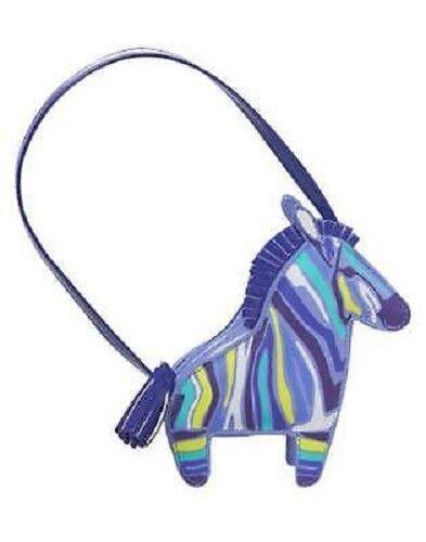 GYMBOREE Sparkle Safari Purple Zebra Purse// Pocketbook// Bag NEW