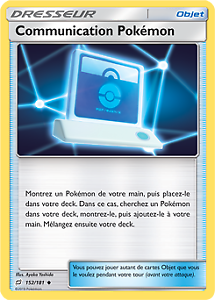 Communication Pokémon Peu Commune 152//181 SL9 Duo de Choc VF Lot de 2 Pokemon