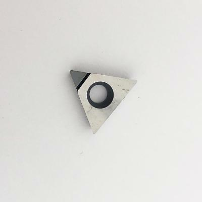 KLOT 2PCS DCMT0702//11T3 PCD//CBN Diamond Tipped Turning Insert CNC Lathe Cutter