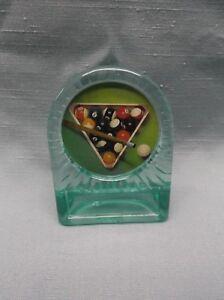 female pool billiards trophy full color theme riser insert black wood base