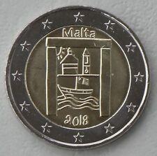 2 Euro Malta 2018 Kulturelles Erbe unz.