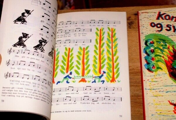 Sangbøger, Kom og syng I & II