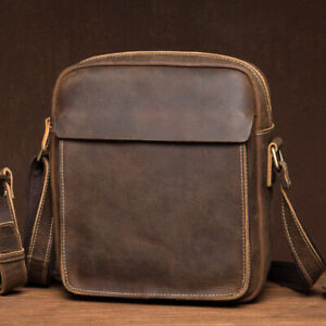 2-sizes-Real-Leather-Vintage-Small-Mini-Single-Shoulder-Bag-Crossbody-Messenger