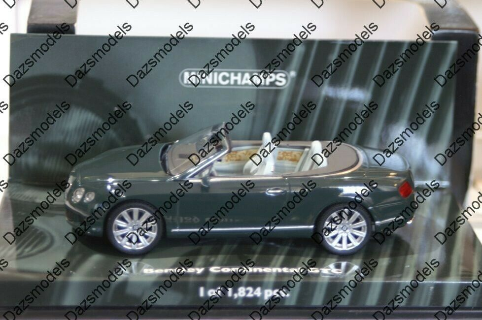 Minichamps Bentley Continental GTC Grün 139060