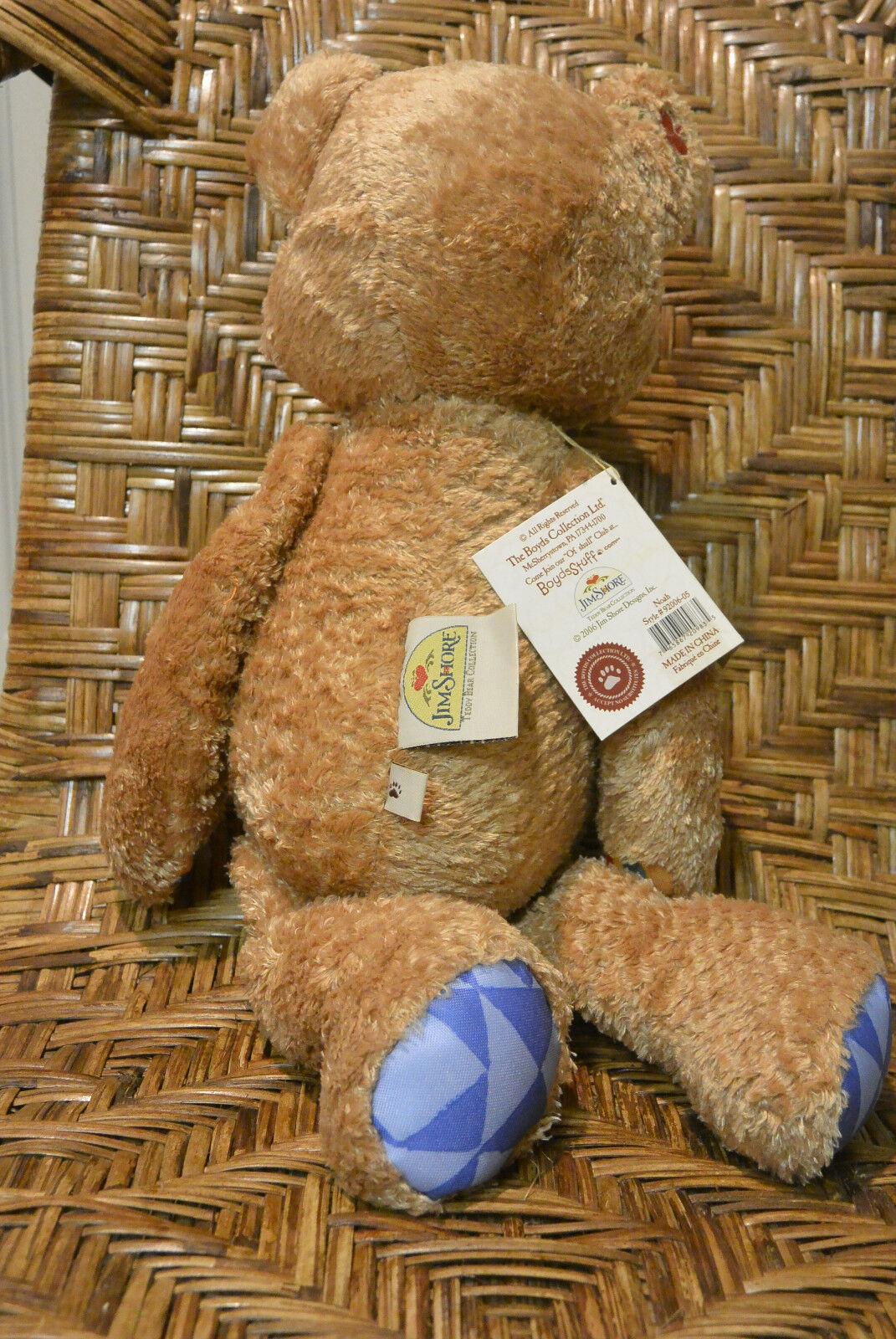 Boyds Bears Jim Shore Teddy Bear Collection Collection Collection Noah Stuffed Plush Animal Noah's Ark 24fc06