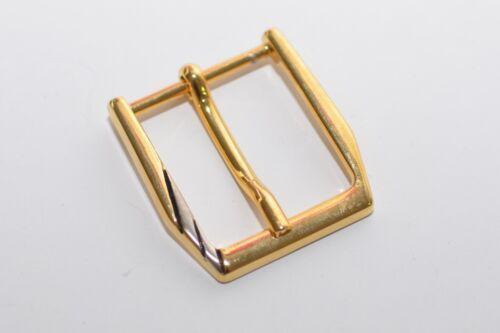 2x Solide Boucle de ceinture boucle joins or environ 24 mm de large années 80er