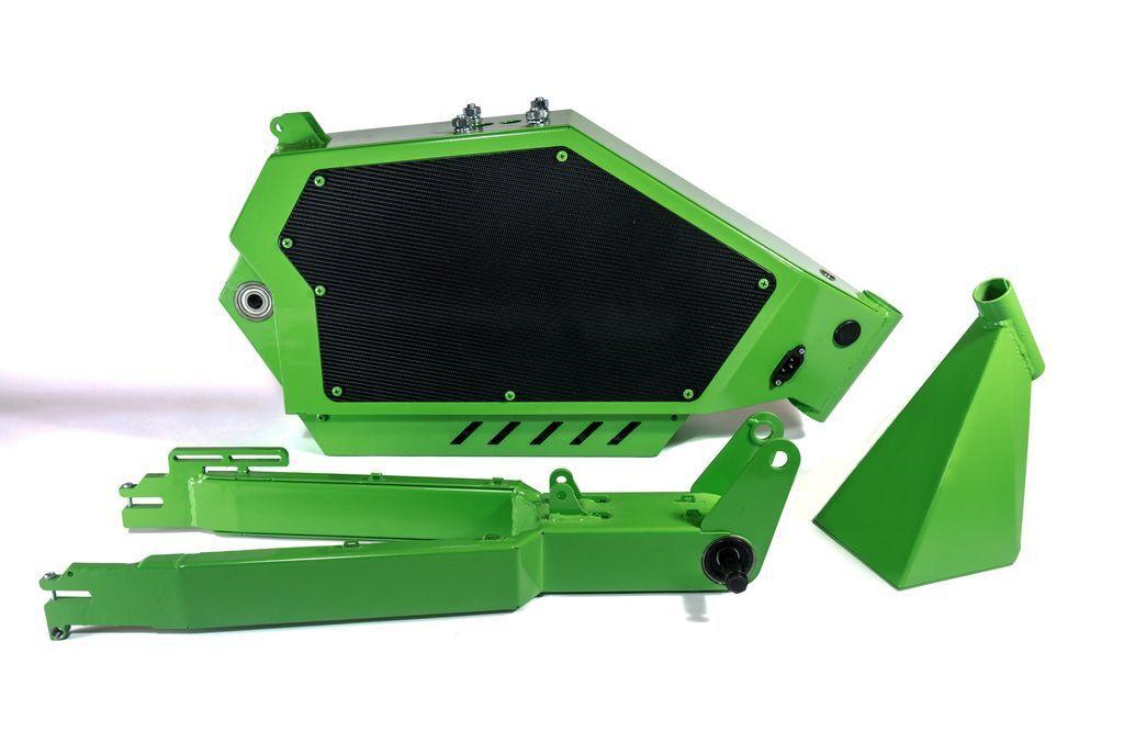 Ebike Frame kit. Frame Steel for your own Electric bike. Horizon new version