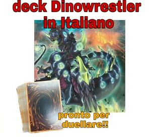 Yu-Gi-Oh-Deck-Mazzo-Completo-Dinowrestler-Pronto-per-Duellare