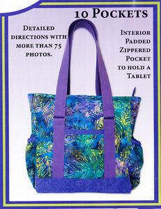1662a3242ab0 PATTERN - Mini Professional Tote - great bag PATTERN - The Creative ...