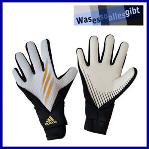 SCHNÄPPCHEN! adidas X 20 League Glove \ weiss/schwarz \ Gr.: 9 \ #Z 40069