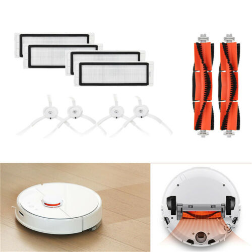 10xBrush Filter Side Brushes Accessories For XIAOMI Robot Vacuum Home Applicance