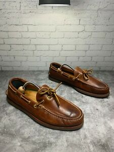 MEN-039-S-SPERRY-GOLD-CUP-A-O-1-EYE-Boat-Shoe-Size-13m-sts12415
