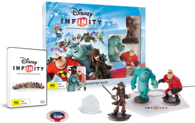 Disney Infinity Starter Pack Wii PAL *BRAND NEW!* + Warranty!