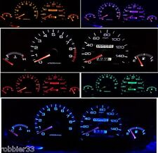 94-01 Acura Integra DC2 DC4 DB8 Gauge Cluster LED KIT  + license led bulb t10