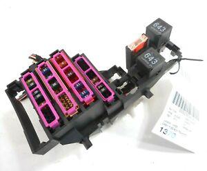 10 audi a5 rear trunk fuse box power distribution oem 8k0971845a  ebay