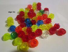 Lego 4073 x 50 transparent mélange de couleurs rouge red jaune yellow vert green