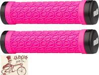 Odi Sdg Lock-on Pink Bmx-mtb Bicycle Grips