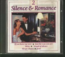 SILENCE & ROMANCE 2 CD Johnny Pearson Sleepy Shores Mike Asthor Piet Noordijk